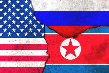 SAD, Rusija, Sjeverna Koreja