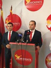 Štjefan Camaj, Aleksa Bečić, Demokrate