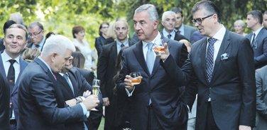 Duško Marković, Milo Đukanović, Branimir Gvozdenović