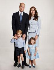 princ Vilijam, princeza Kejt, princeza Šarlot, princ Džordž