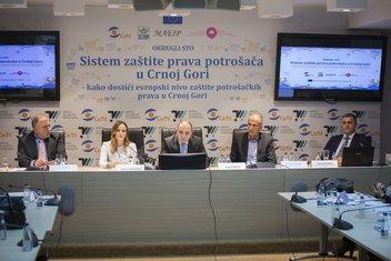 """CEMI, """"Sistem zaštite prava potrošača u Crnoj Gori"""