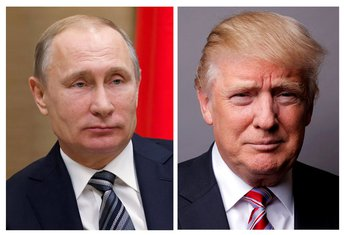 Vladimir Puin, Donald Tramp