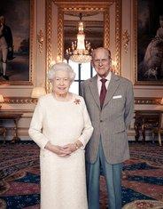kraljica Elizabeta, princ Filip