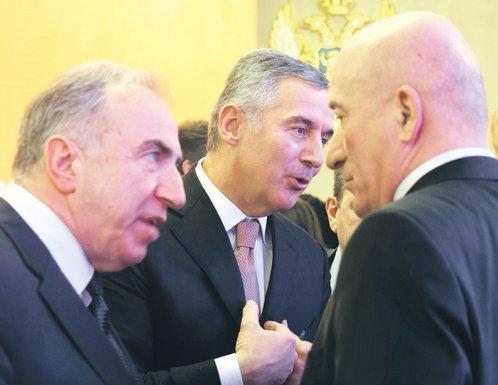 Ivica Stanković, Milo Đukanović, Milivoje Katnić