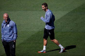 Kristijano Ronaldo i Zinedin Zidan