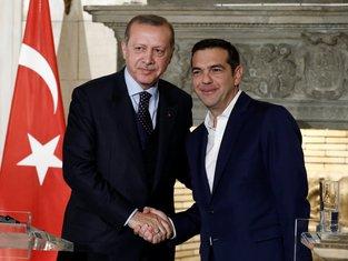 Redžep Tajip Erdogan, Aleksis Cipras