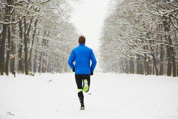 trčanje, zima