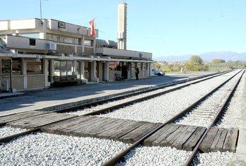 Tuzi željeznička stanica