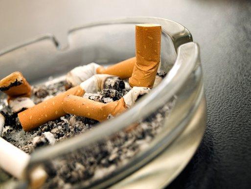 cigarete, pepeljara