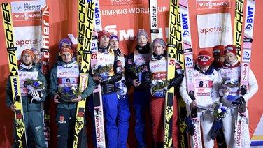 Skijaški skokovi, Norveška, Njemačka, Japan