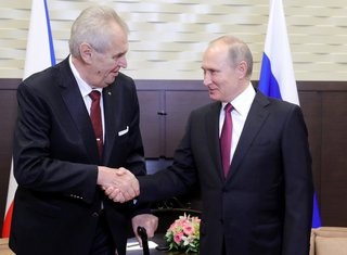 Zeman i Putin