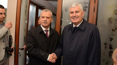 Fahrudin Radončić, Dragan Čović