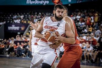 Bojan Dubljević košarkaška reprezentacija Crne Gore