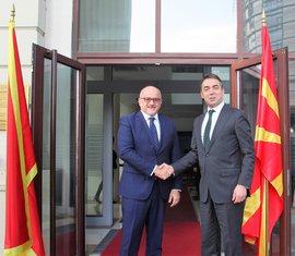 Srđan Darmanović, Makedonija