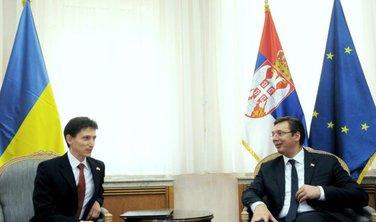 Oleksander Aleksandrovič, Aleksandar Vučić