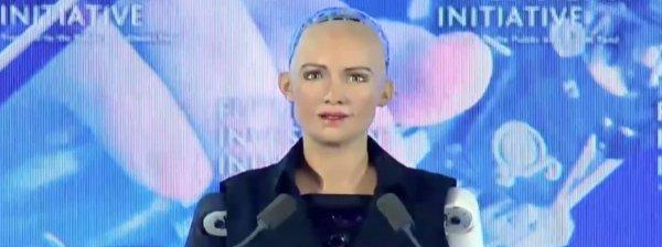 robot Sofija