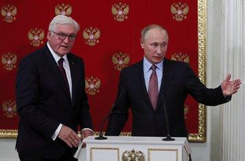 Frank-Valter Štajnmajer, Vladimir Putin
