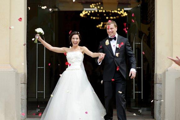 Mladenci, brak, svadba