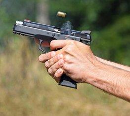 Pucanje, pištolj