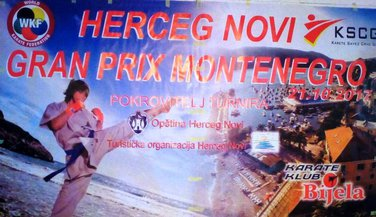 Internacionalni karate turnir, Gran pri Montenegro