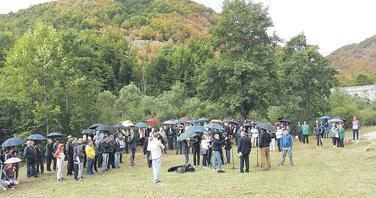 Donja Bukovica protest