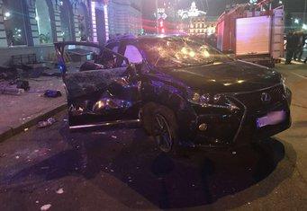 Harkov, auto uletjelo među pješake