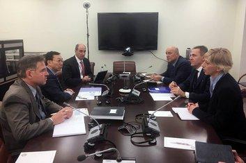 Crnogorska delegacija, sastanak MMF