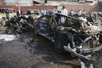 Irak samoubilački napad