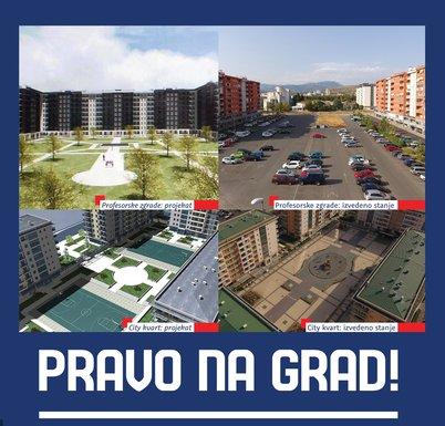 City kvart, URA
