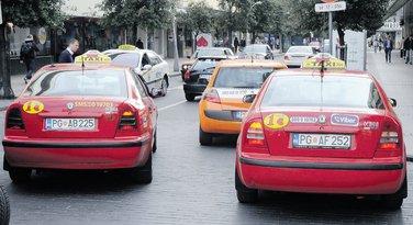 taksi, taksisti, Podgorica
