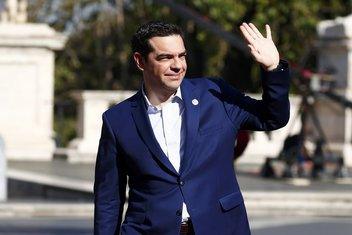 Rimski sporazum godišnjica, Aleksis Cipras