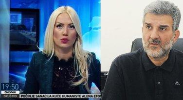Ivana Šebek, Vladan Mićunović