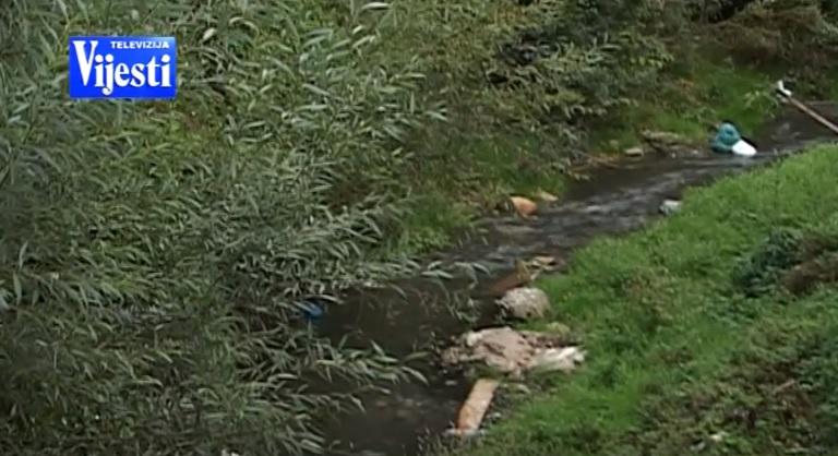 Lješnica, rijeka zagađenje