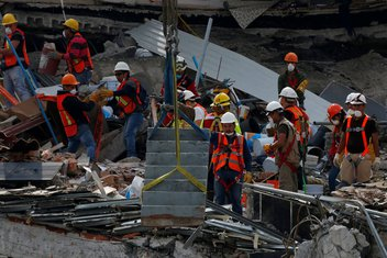Meksiko zemljoters