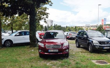 parkiranje Milenijum