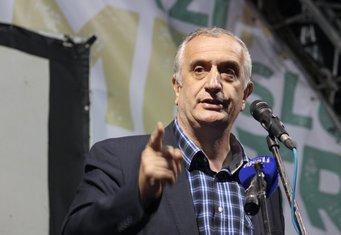 protest Demokratski front, Predrag Bulatović