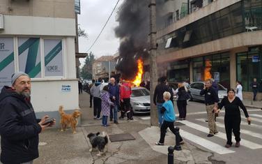Eksplozija u Podgorici