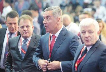 Milo Đukanović, Duško Marković, Slavoljub Stijepović
