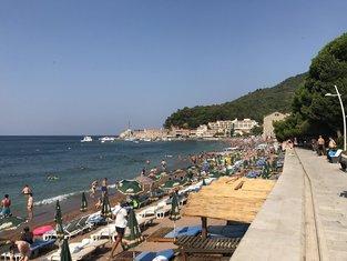 more, plaža, morska voda