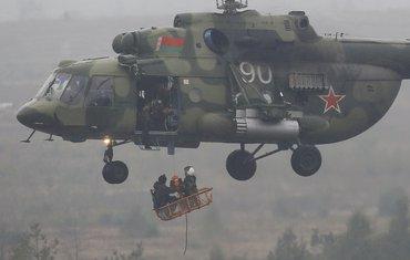 Bjeloruski helikopter