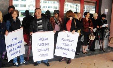 radnici, protest