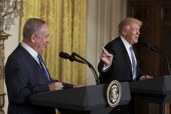 Donald Tramp, Benjamin Netanjahu