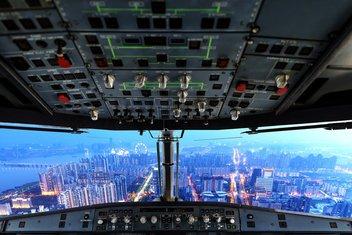 avion, piloti, kokpit