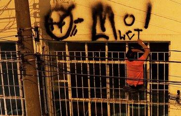 Brazil grafiti