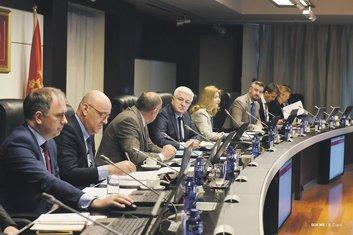 Vlada Crne Gore sjednica