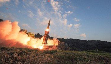 Južna Koreja projektil