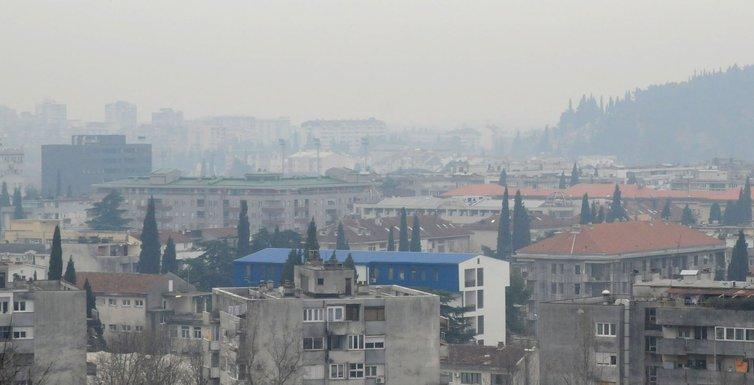 Podgorica smog