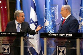 Netanjahu i Gutereš