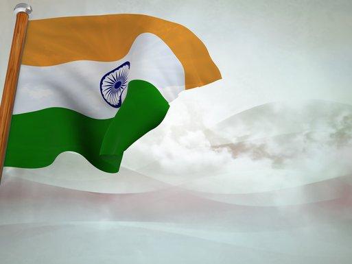 Indija, zastava