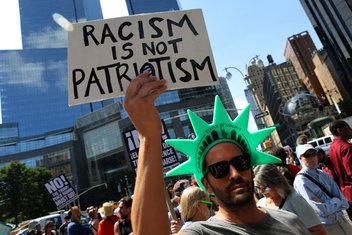 SAD, protest Njujork